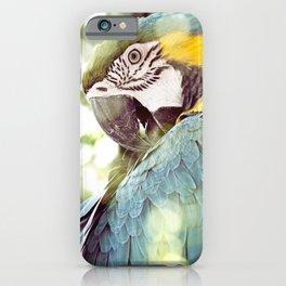 Magical Parrot - Guacamaya Variopinta - Magical Realism iPhone Case