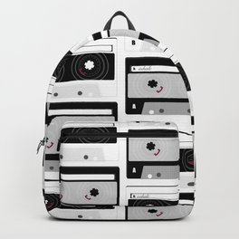 A: Inhale // B: Exhale Backpack