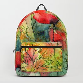 The Poppies Grow Backpack