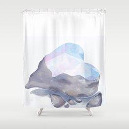 Love Hard Shower Curtain