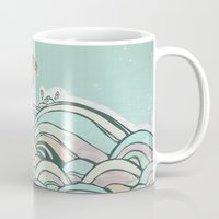 joy Mugs featuring Joy by jewelwing