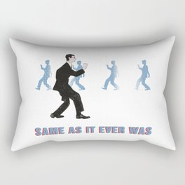 Talking Heads ~ Once In A Lifetime Walk Rectangular Pillow