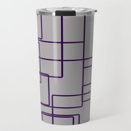 rectángulos superposiciones Travel Mug