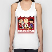 charlie brown Tank Tops featuring Charlie Of The Dead by Demetrius Marble