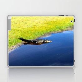 Relaxing Alligator Laptop & iPad Skin