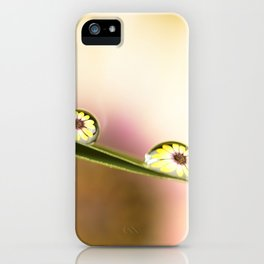 Water Drops  iPhone Case