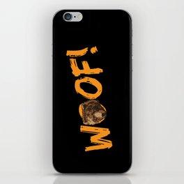 Woof! iPhone Skin
