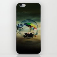 wizard iPhone & iPod Skins featuring Wizard by Tony Vazquez