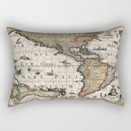 Map Of America 1614 Rectangular Pillow