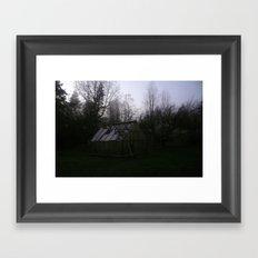 Slow, creeping Framed Art Print
