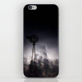 Midnight Thunder iPhone Skin