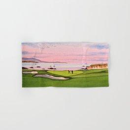 Pebble Beach Golf Course 8th Hole Hand & Bath Towel