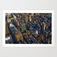 Top of the Empire #9 Art Print