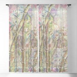 Bamboo Spirits Sheer Curtain