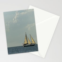 Full Sail on the High Seas Stationery Cards