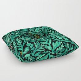Dark Hedgerow Floor Pillow