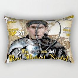 Rafael Nadal in Shinning Armor Rectangular Pillow