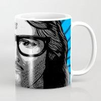bane Mugs featuring Jesus Bane #02 by Jesus Bane