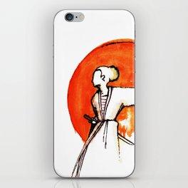 Little Miss Samurai iPhone Skin