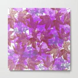 Leaves FG 5 Metal Print