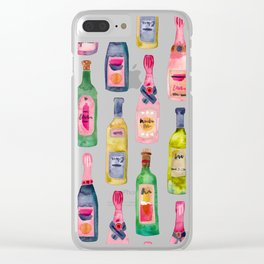 Champagne Collection Clear iPhone Case