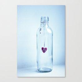 Key to love Canvas Print