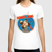 donkey kong T-shirts featuring Donkey King Kong by Vickn