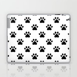 Paw print animal lover pattern Laptop & iPad Skin