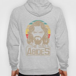 Mens The Dad Abides Funny Retro Father's Day Gift T-Shirt Hoody
