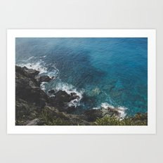 Makapu'u Sea Art Print