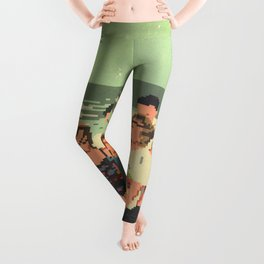 The Land Between Solar Systems Leggings