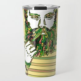 Sea Wolf Ghost (Yellow Version) Travel Mug