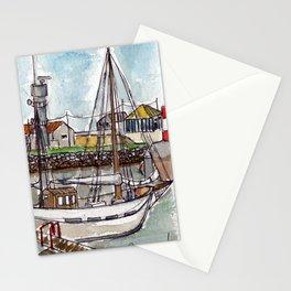 The Harbour, Figueira Da Foz, Portugal Stationery Cards