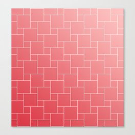 SOFT RED Canvas Print
