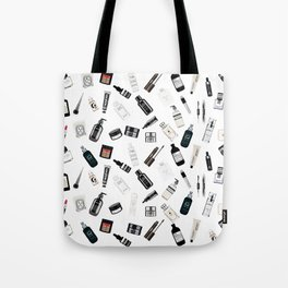 The Black & White shelf Tote Bag