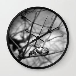 Claddagh Ring Wall Clock