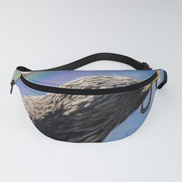 Eagle, Dove and Serpent Fanny Pack