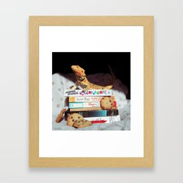 Mayli + Cookies Framed Art Print