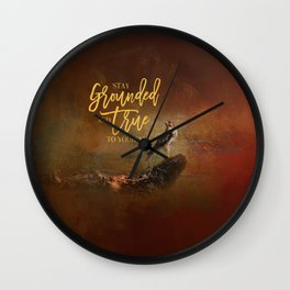Ground Level Wall Clock