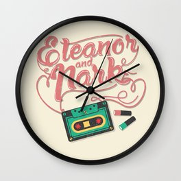 Eleanor and Park Wall Clock