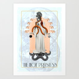 The High Priestess Tarot Art Print