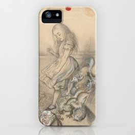 Alice in Wonderland - John Tenniel iPhone Case