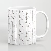 calendars Mugs featuring Spring Pattern by Shabby Studios Design & Illustrations ..