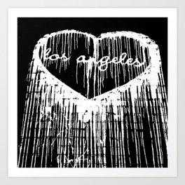 I Heart L.A. Art Print