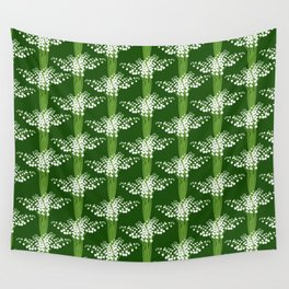 lily of the valley pattern Wall Tapestry