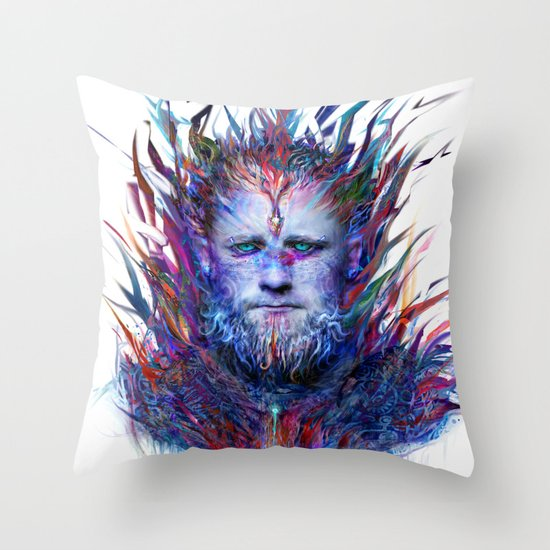 I love winter Throw Pillow