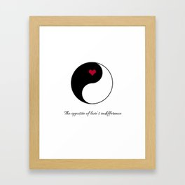 Stubborn Love Framed Art Print