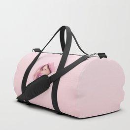 Classy Pink Lady Duffle Bag