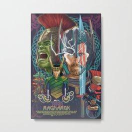 Thor Ragnarok Metal Print