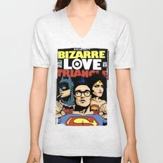Bizarre Love Triangle: The Post-Punk Edition Unisex V-Neck